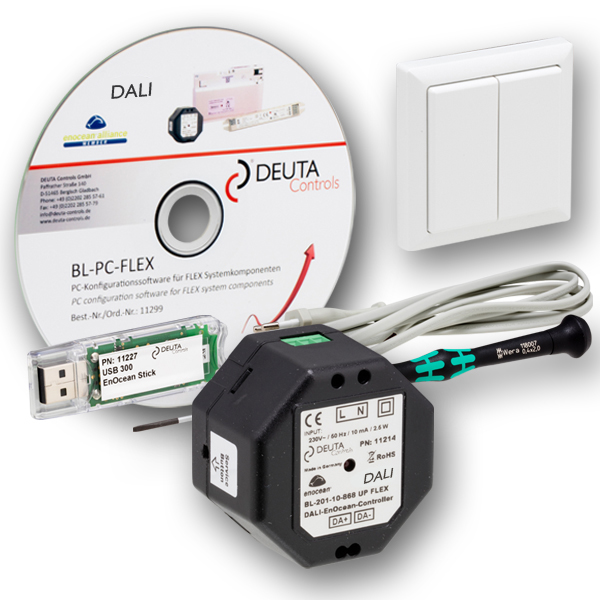 DEUTA Controls BL-PC-FLEX EnOcean DALI Controller jMobile