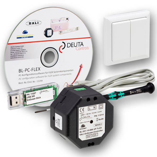 BL-201-FLEX Starterkit EnOcean DALI Controller DEUTA Controls