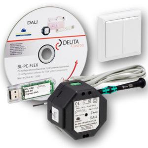 BL-201-10-868 FLEX Starterkit DEUTA Controls EnOcean DALI Controller Lichtsteuerung