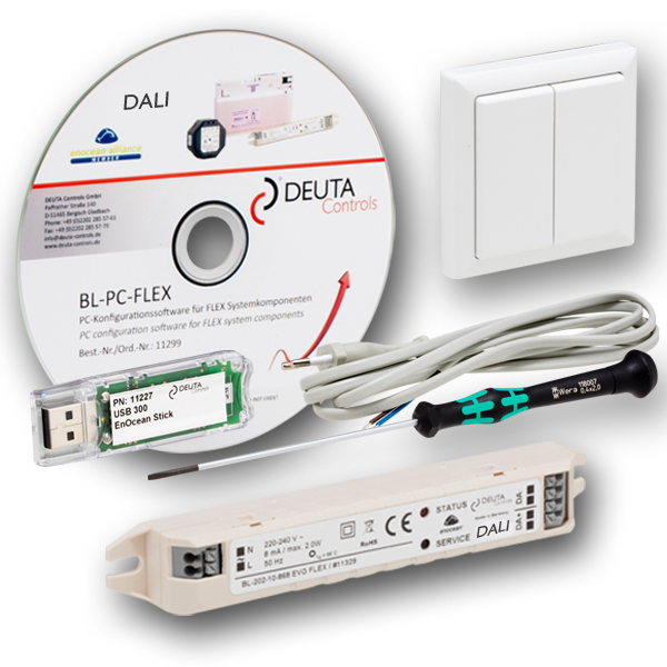 BL-202-10-868 FLEX Starterkit DEUTA Controls EnOcean DALI Controller Lichtsteuerung