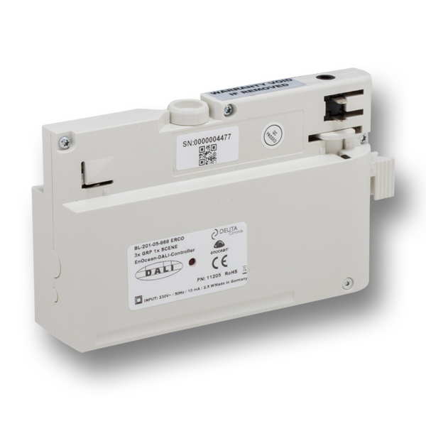 BL-201-05-868 ERCO 3xGRP 1xSCENE EnOcean-DALI-Controller DEUTA Controls