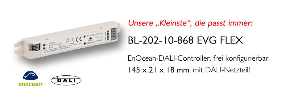 BL-202-10-868 EVG FLEX EnOcean DALI Controller DEUTA COntrols