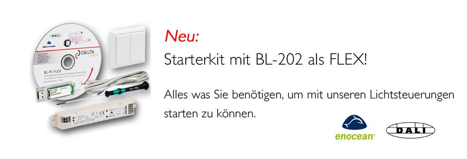 BL-202-FLEX Starterkit EnOcean DALI Controller DEUTA Controls