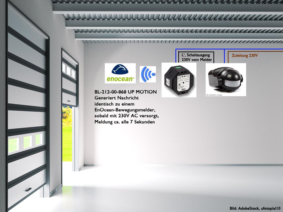 Applikation BL-212-00-868 UP MOTION DEUTA Controls