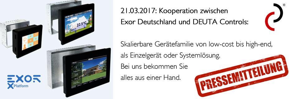 Kooperation EXOR DEUTA