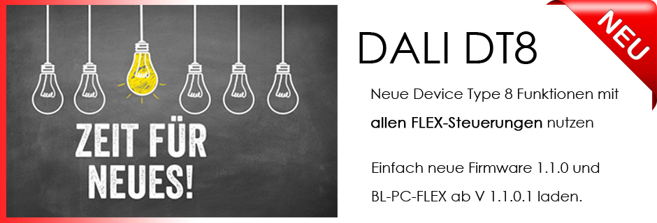 BL-PC-FLEX EnOcean DALI DT8 DEUTA Controls