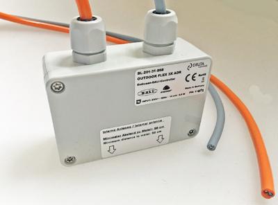 BL-201-31-868 OUTDOOR FLEX 3xADR EnOcean DALI Controller DEUTA Controls