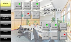 DEUTA Controls VL SMART STYLE BASE Modbus EnOcean Gateway BL-201 BL-202 EnOcean DALI Controller