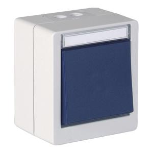 11279 Funktaster EnOcean Einzelwippe IP55 OPUS RESIST 300x300