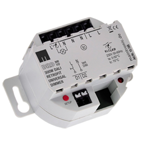 11896 DALI Universal Dimmer UP 230 V 1CH 3-300W DEUTA Controls