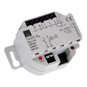 11897 DALI Schaltaktor UP 1CH Schließer 16 A 250 V DEUTA Controls