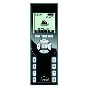 EnOcean Fernbedienung LCD 128-Kanal 300x300 DEUTA Controls
