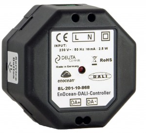 BL-201-10-868 UP FLEX EnOcean DALI Controller DEUTA Controls
