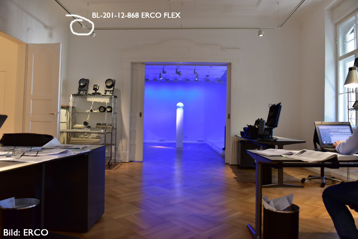 ERCO Showroom München BL-201-12-868 ERCO FLEX DEUTA Controls
