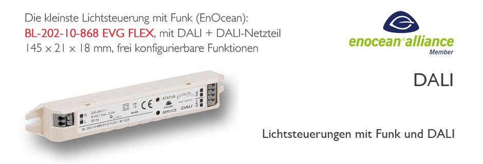 BL-202-10-868 EVG FLEX DALI EnOcean Controller DEUTA Controls