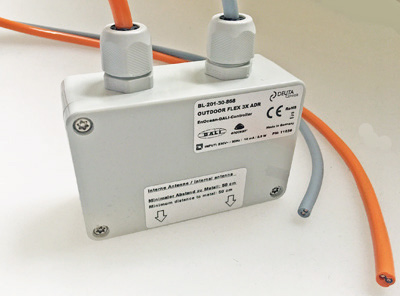 Holophane DEUTA Controls EnOcean DALI Curl Aberdeen