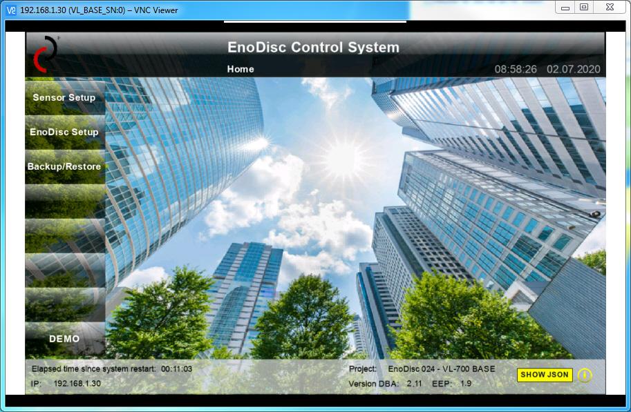 EnoDisc ContrECS EnoDisc Control System DEUTA Controls GmbHol System ECS DEUTA Controls AL-512-00-868